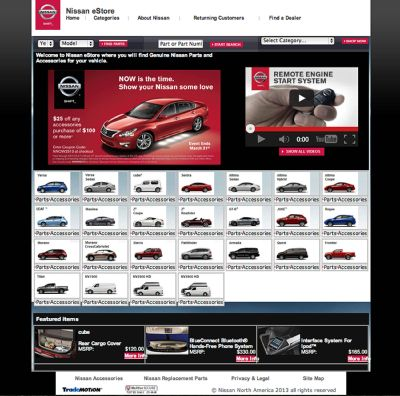Looking For Oem And Nismo Parts Check Out Nissan Estore